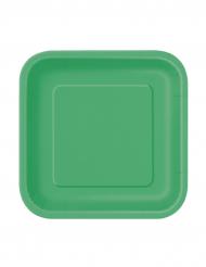 Vihreä lautanen 16kpl