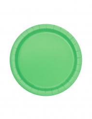Vihreät pahvilautaset, 20 kpl