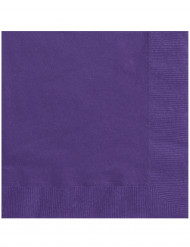 20kpl servietti violetti