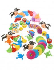 Pieniä leluja piñatan täytteeksi 64 kpl