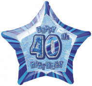 Sininen tähtipallo 40-v