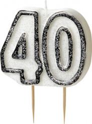 Kakkukynttilä 40-vuotiaalle