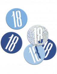 Konfetti sininen/harmaa 18v