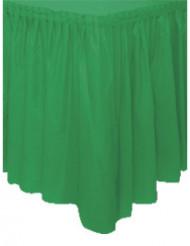 Vihreä pöydän hame