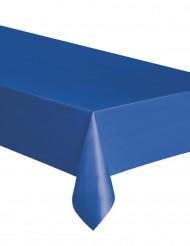 Sininen muovinen pöytäliina 137 x274 cm