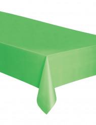 Suorakaiteen muotoinen limenvihreä muovipöytäliina