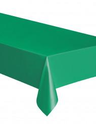 Vihreä muovinen pöytäliina
