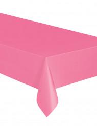 Vaaleanpunainen muovipöytäliina