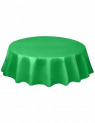 Smaragdinvihreä pyöreä muovipöytäliina