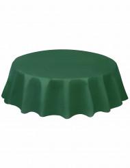 Vihreä pyöreä pöytäliina