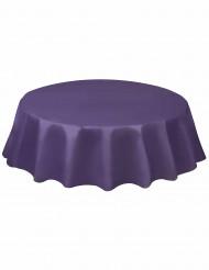 Violetti pyöreä pöytäliina