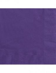 Violetit servietit 50 kpl