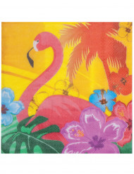 Flamingoservetit, 12 kpl