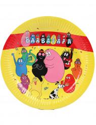 6 Barbapapa™-pahvilautasta, 23 cm
