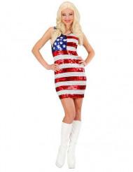 Naisten Miss USA paljettimekko