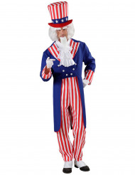 Aikuisten naamiaisasu Uncle Sam - Setä Samuli