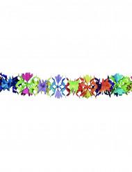 Kukkakuvioitu monivärinen juhlanauha