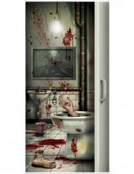 Oven koristepäällinen verisellä kylpyhuoneella - Halloween