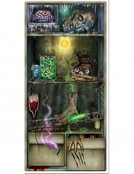 Halloween-ovikoriste, jääkaappi
