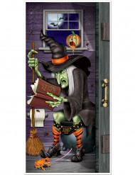 Vitsikäs Halloween ovikoriste