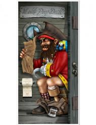 Ovikoriste piraatti vessassa
