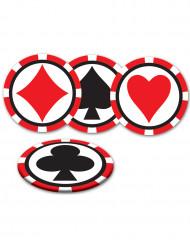 Casino-lasinaluset, 8 kpl