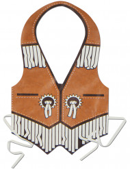 Muovinen cowboy- liivi