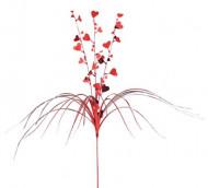 Punainen sydänkoriste