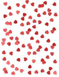 Punaisia sydänkonfetteja 14 g