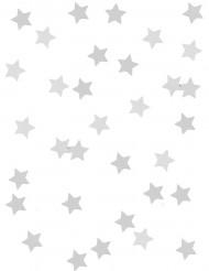 Hopeiset tähtikoristeet
