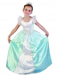 Sininen prinsessan mekko lapsille