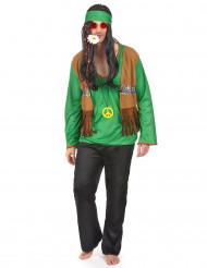 Vihreä hippiasu