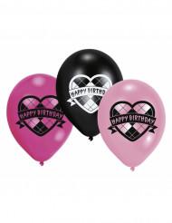 Monster high™ Happy Birthday -ilmapallot, 6 kpl