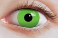 Vihreät UV-piilolinssit