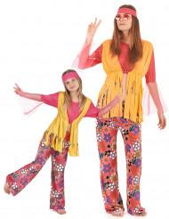 Värikäs hippipari - Pariasu aikuiselle ja lapselle