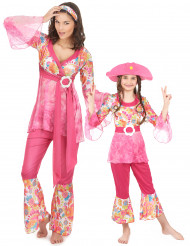 Flower Power-pariasu aikuiselle ja lapselle