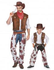 Cowboyt -pariasu aikuiselle ja lapselle