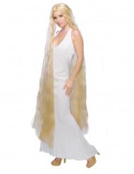 Naisten pitkähiuksinen prinsessa peruukki