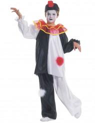Pierrot-hahmon naamiaisasu lapselle