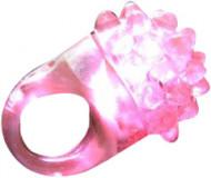 LED-valaistu vaaleanpunainen taikasormus
