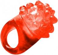 Taikasormus punaisella ledi-valolla