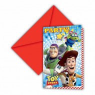 Toy Story Star Power™ kutsukortit 6 kpl