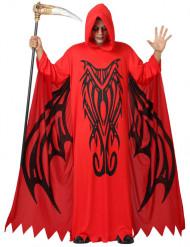 Punainen demoni Halloween-asu miehille