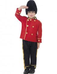 Englantilainen vartijan asu lapsille