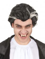 Mustavalkoinen vampyyriperuukki