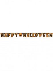 Pilkullinen happy halloween -koristenauha