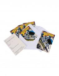 6 Kutsukorttia + 6 kirjekuorta Batman™