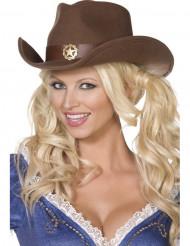 Cowboy-seriffin hattu aikuisille