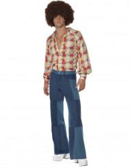 Miehen naamiaisasu 70-luvulta