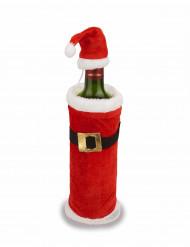 Joulupukin takki ja lakki pullolle